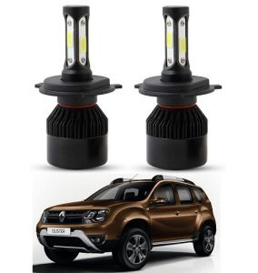 Trigcars Renault Duster LED Headlight Nighteye Light Set Of 2
