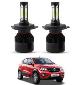 Trigcars Renault Kwid LED Headlight Nighteye Light Set Of 2