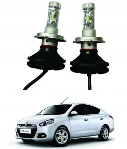 Headlights and bulbs - Trigcars Renault Scala Car Glass Led Head Light