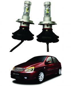 Headlights and bulbs - Trigcars Tata Indigo CS Car Glass Led Head Light