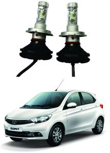 Headlights and bulbs - Trigcars Tata Tiago Car Glass Led Head Light