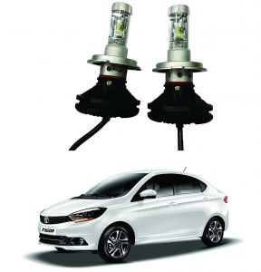 Headlights and bulbs - Trigcars Tata Tigor Car Glass Led Head Light