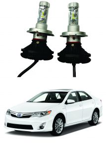 Trigcars Toyota Camry Car Glass LED Head Light