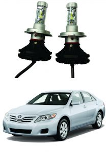 Headlights and bulbs - Trigcars Toyota Camry Old Car Glass Led Head Light