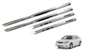 Side beading for cars - Trigcars Toyota Corolla Car Steel Chrome Side Beading