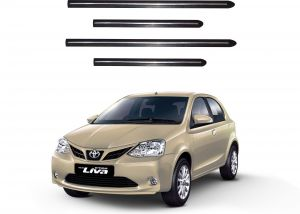 Side beading for cars - Trigcars Toyota Etios New Car Side Beading