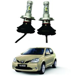 Headlights and bulbs - Trigcars Toyota Etios New Car Glass Led Head Light