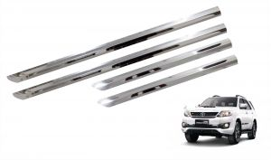 Side beading for cars - Trigcars Toyota Fortuner Old Car Steel Chrome Side Beading