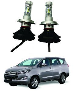 Headlights and bulbs - Trigcars Toyota Innova Crysta Car Glass Led Head Light