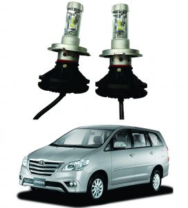 Headlights and bulbs - Trigcars Toyota Innova New Car Glass Led Head Light