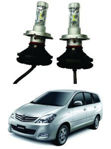 Trigcars Toyota Innova Old Car Glass LED Head Light
