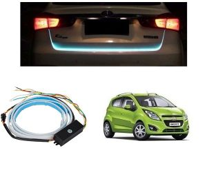 Trigcars Chevrolet Beat Car Dicky LED Light Car Bluetooth