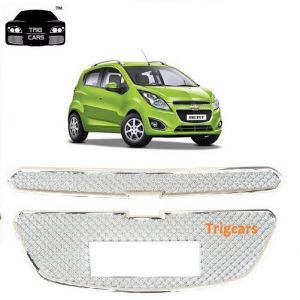 Trigcars Chevrolet Beat Car Front Grill Chrome Plated