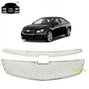 Car Accessories (Misc) - Trigcars Chevrolet Cruze Car Front Grill Chrome Plated