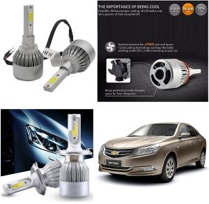 Headlights and bulbs - Trigcars Chevrolet Optra New Car LED HID Head Light