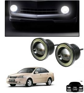 Trigcars Chevrolet Optra Old Car High Power Fog Light With Angel Eye