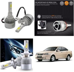 Headlights and bulbs - Trigcars Chevrolet Optra Old Car LED HID Head Light
