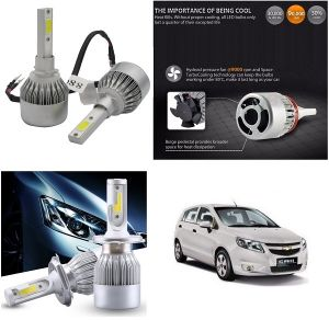 Headlights and bulbs - Trigcars Chevrolet SAIL Car LED HID Head Light