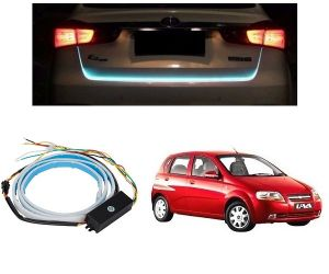 Trigcars Chevrolet Uva Car Dicky LED Light Car Bluetooth