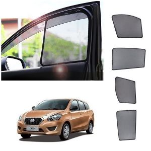 Trigcars Datson Go Plus Car Half Sun Shade