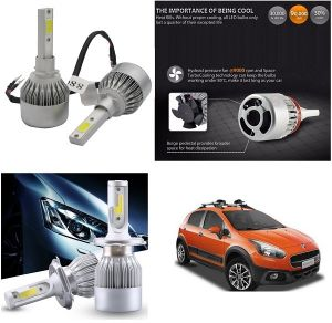 Headlights and bulbs - Trigcars Fiat Avventura Car LED HID Head Light