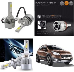 Headlights and bulbs - Trigcars Fiat Avventura Urban Car LED HID Head Light