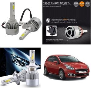 Headlights and bulbs - Trigcars Fiat Punto Car LED HID Head Light