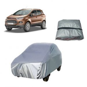 Trigcars Ford Ecosport Car Cover Silver