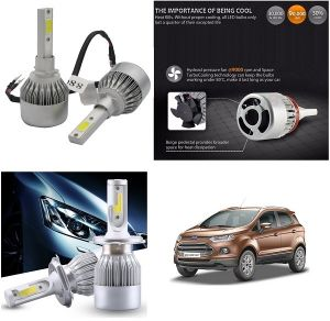 Headlights and bulbs - Trigcars Ford Ecosport Car LED HID Head Light