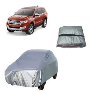 Trigcars Ford Endeavour New Car Cover Silver