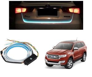 Trigcars Ford Endeavour New Car Dicky LED Light Car Bluetooth