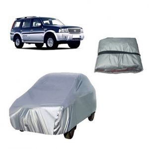 Trigcars Ford Endeavour Old Car Cover Silver