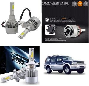 Headlights and bulbs - Trigcars Ford Endeavour Old Car LED HID Head Light
