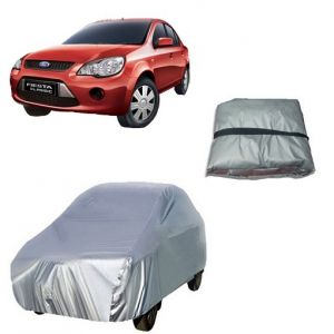 Trigcars Ford Fiesta Car Cover Silver