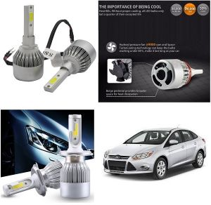 Headlights and bulbs - Trigcars Ford Fiesta Car LED HID Head Light