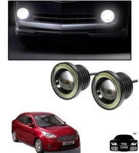 Trigcars Ford Figo Aspire Car High Power Fog Light With Angel Eye