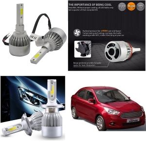 Headlights and bulbs - Trigcars Ford Figo Aspire Car LED HID Head Light