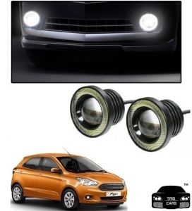 Trigcars Ford Figo New Car High Power Fog Light With Angel Eye