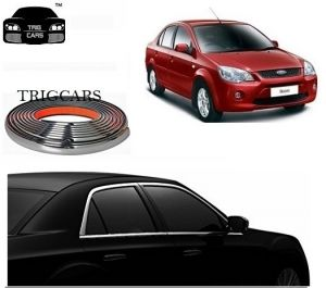 Trigcars Ford Ikon Car Side Window Chrome Beading Moulding Roll Car Bluetooth