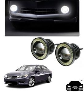Trigcars Honda Accord Old Car High Power Fog Light With Angel Eye