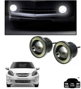 Trigcars Honda Amaze Old Car High Power Fog Light With Angel Eye