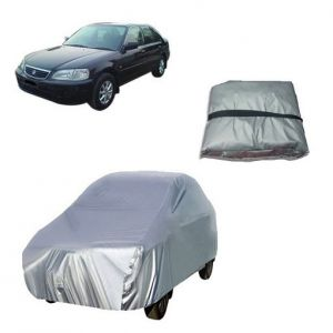 Trigcars Honda City Old Car Cover Silver