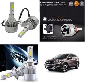 Headlights and bulbs - Trigcars Honda CR-V Car LED HID Head Light