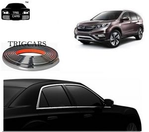 Trigcars Honda Cr-v Car Side Window Chrome Beading Moulding Roll Car Bluetooth