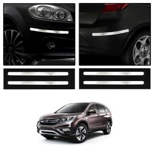 Trigcars Honda Crv Car Chrome Bumper Scratch Potection Guard Car Bluetooth