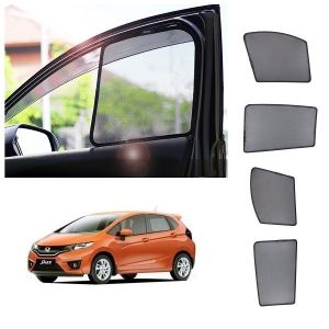 Trigcars Honda Jazz Car Half Sun Shade