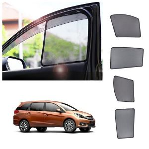 Magnetic curtain and sunshades for cars - Trigcars Honda Mobilio Car Half Sun Shade