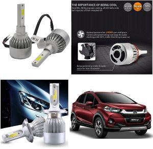 Headlights and bulbs - Trigcars Honda WR-V Car LED HID Head Light
