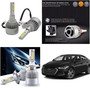 Trigcars Hyundai Elantra Car LED Hid Head Light