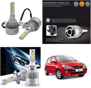 Trigcars Hyundai Getz Car LED Hid Head Light